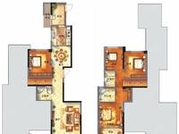 融侨观邸4室2厅3卫2阳台复式楼层毛坯房出租