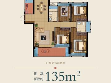 9#楼135平方米户型