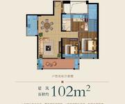 9#楼102㎡户型