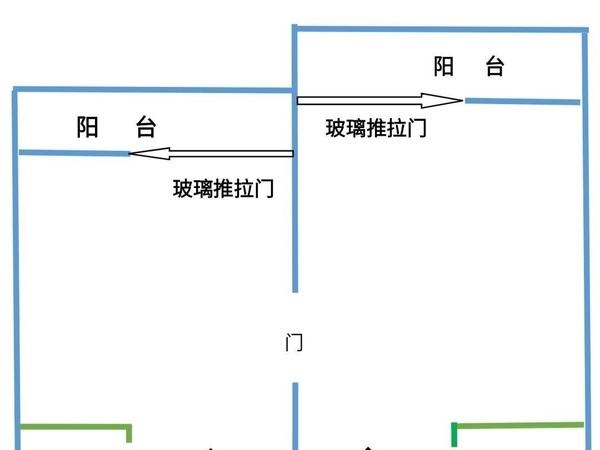 出售洪鼎城小区1室2厅2卫51平米23万住宅