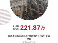 超低价法拍房加州城复式6室3厅3卫251平米221万住宅